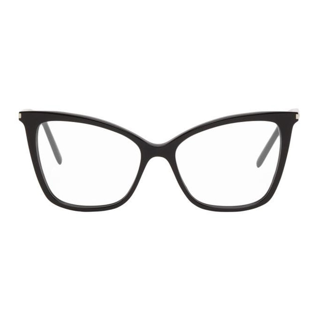Saint Laurent Black SL 386 Cat Eye Glasses