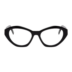 Saint Laurent Black SL M60 Cat-Eye Glasses