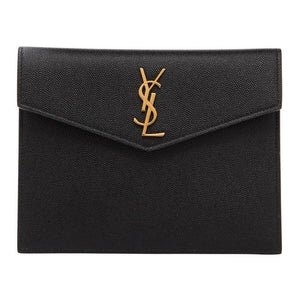Saint Laurent Black Uptown Baby Pouch