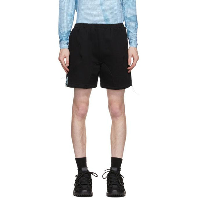 Saul Nash SSENSE Exclusive Black and Blue Reveal Shorts