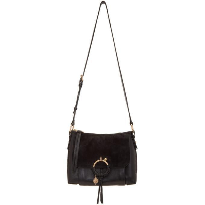 See by Chloé Black Joan Bag-Bags-BLACKSKINNY.COM