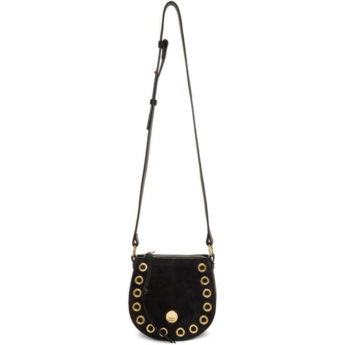 See by Chloé Black Kriss Hobo Bag-Bags-BLACKSKINNY.COM