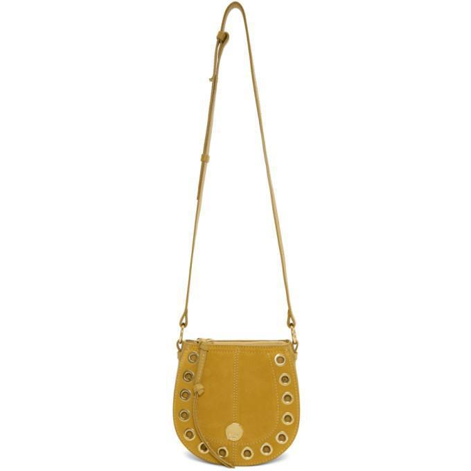 See by Chloé Yellow Kriss Hobo Bag-Bags-BLACKSKINNY.COM