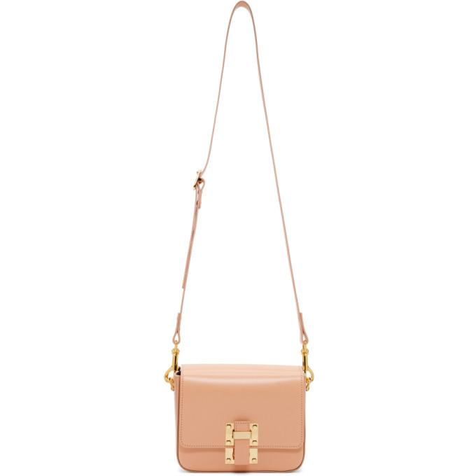 Sophie Hulme Pink Small Quick Bag-Bags-BLACKSKINNY.COM