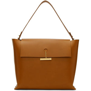 Sophie Hulme Tan The Pinch Bag-Bags-BLACKSKINNY.COM