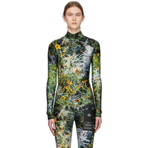 S.R. STUDIO. LA. CA. Multicolor Marfa Fitted Turtleneck