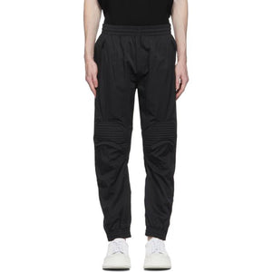 System Black Knee Patch Track Pants