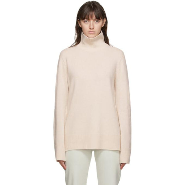 The Row Beige Milina Turtleneck