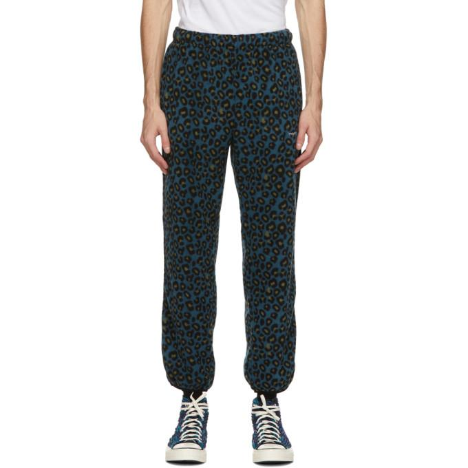 thisisneverthat Blue Fleece DSN Trousers