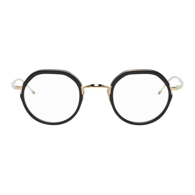 Thom Browne Black Border Glasses
