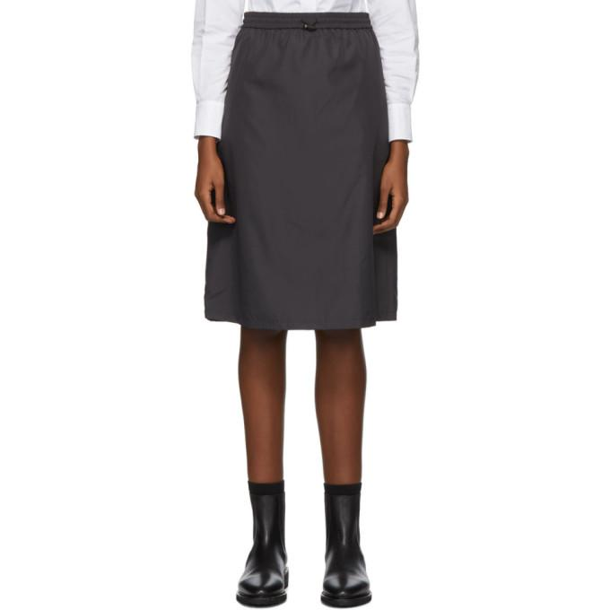 Thom Browne Black Flyweight Gusset Skirt