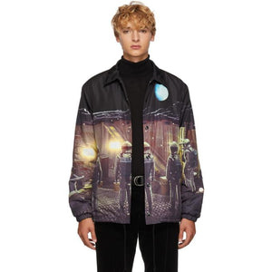 Undercover Black '2001: A Space Odyssey' Jacket-BlackSkinny