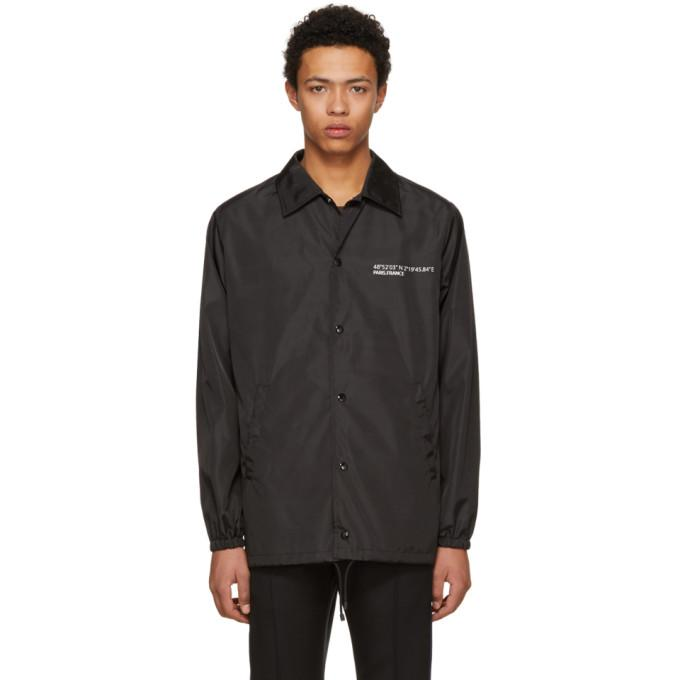 Valentino Black 'Anywhen' Coach Jacket-BlackSkinny