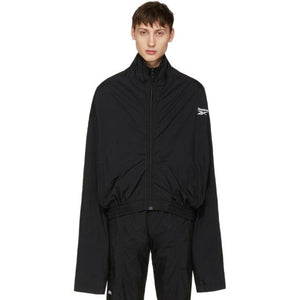 Vetements Black Reebok Edition Track Jacket-BlackSkinny