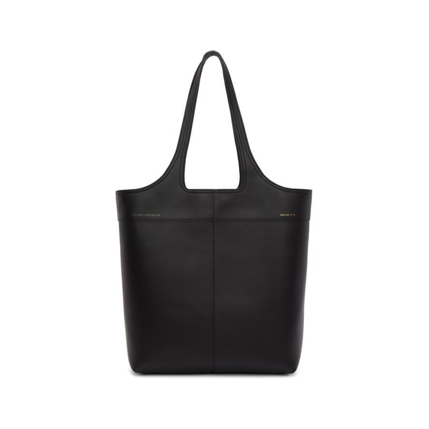 Victoria Beckham Black North/South Tote-Bags-BLACKSKINNY.COM