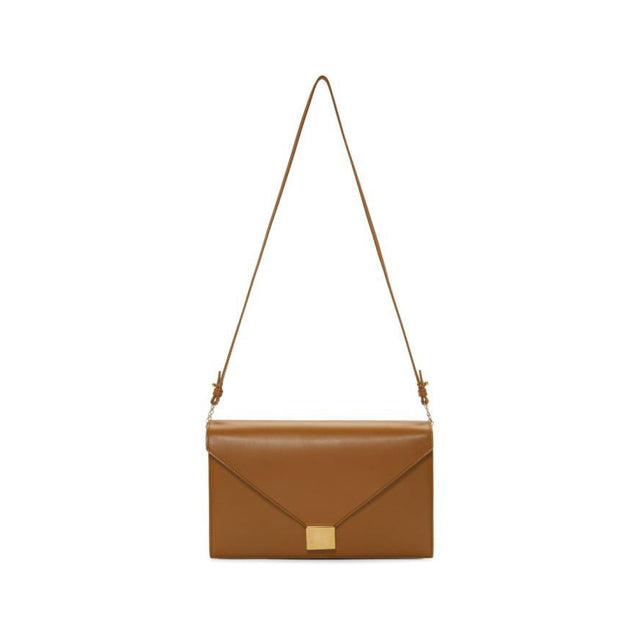 Victoria Beckham Brown Envelope Chain Bag-Bags-BLACKSKINNY.COM