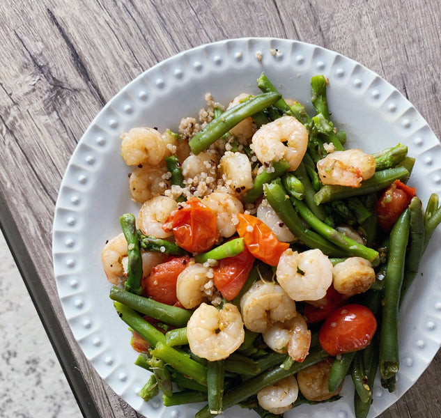 Spring Shrimp Stir Fry