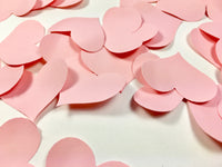 Pink Heart Petal Table Scatters - Light Pink Heart Petal Table Scatters