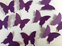 Purple Butterfly Table Scatters - Purple Butterfly Confetti