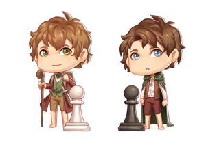 31 and 32 Chess Pieces