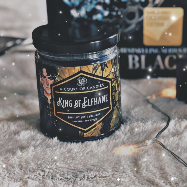 King of Elfhame Candle