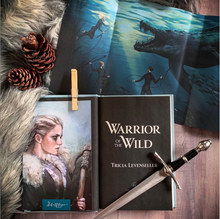 Warrior of the Wild, by Tricia Levenseller (SIGNED, FIRST EDITION WITH POSTER)