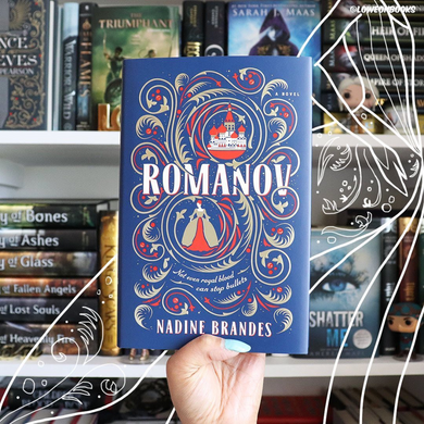 Romanov, by Nadine Brandes (SIGNED, FIRST EDITION WITH EXCLUSIVE COVER)