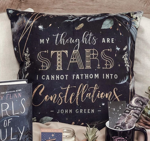 Thoughts are Stars Pillow Case
