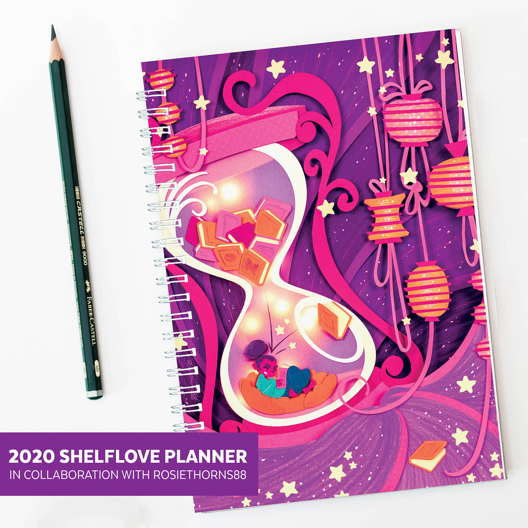 PRE-ORDER 2020 Shelflove Reading Journal and Planner