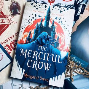 The Merciful Crow, by Margaret Owen (WITH SIGNED BOOKPLATE)