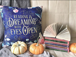 Reading is Dreaming pillow case