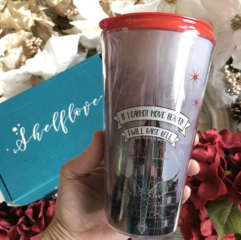 Shadowhunters inspired travel mug