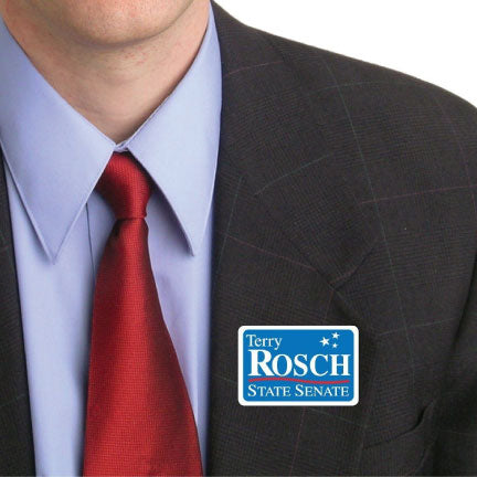 A personalized sticker for a campaign