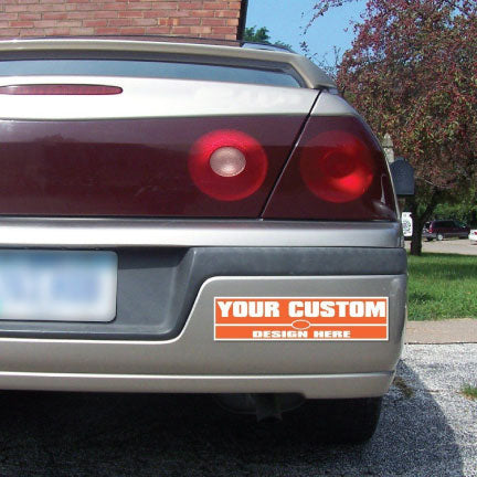 Custom campaign bumper stickers
