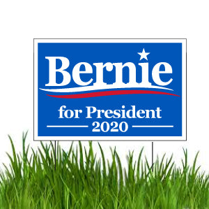 Bernie Sanders 2020 Yard Sign Sets - Set of 10-100, With Stakes