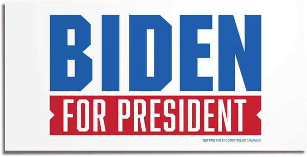"Joe Biden for President 2020 12""x24"" Yard Sign Set of 2, With Stakes"