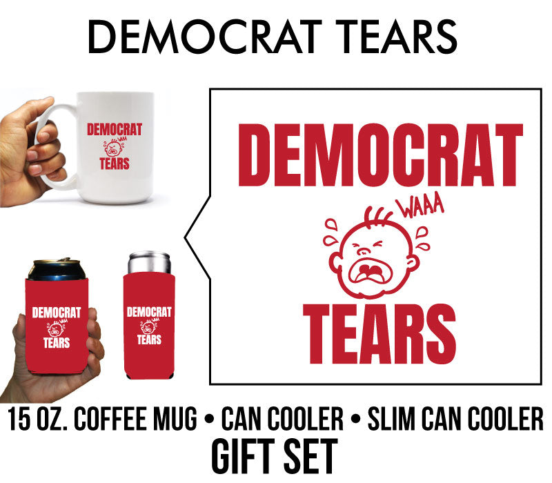 Democrat Tears Holiday or Birthday Gift Set