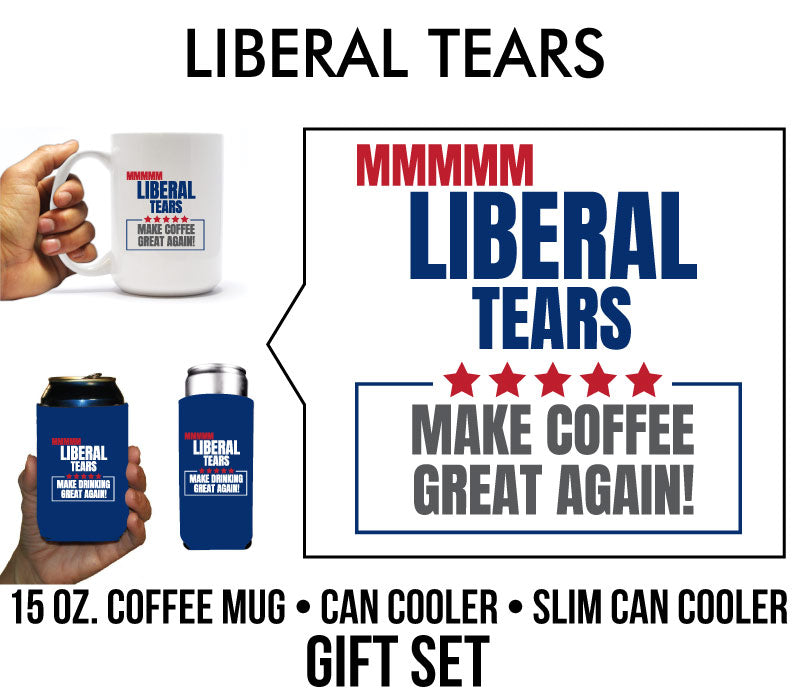 Liberal Tears Funny Political Gift Set