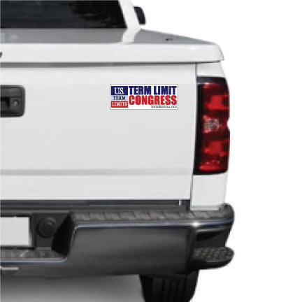 Term Limit Congress Bumper Sticker