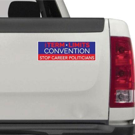 Term Limits Convention Bumper Sticker