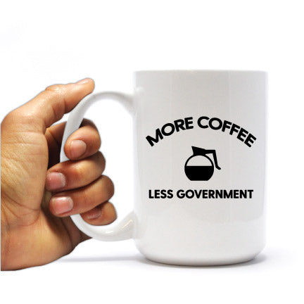More Coffee Less Government