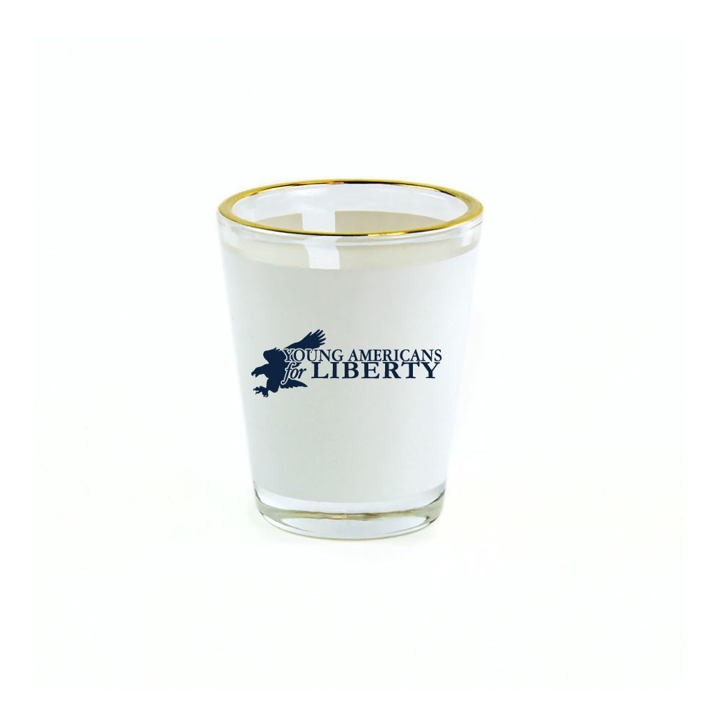 Young Americans for Liberty Logo Shotglass