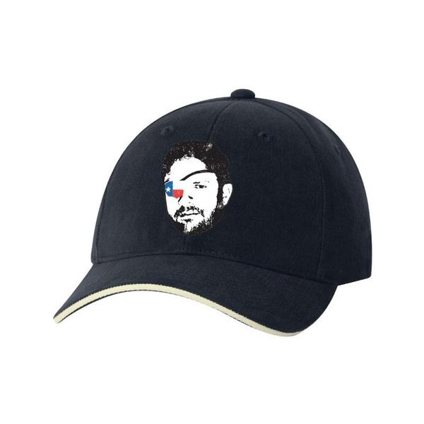 Dan Crenshaw Face Design Blue Hat