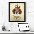Beagle Royalty • Framed Poster