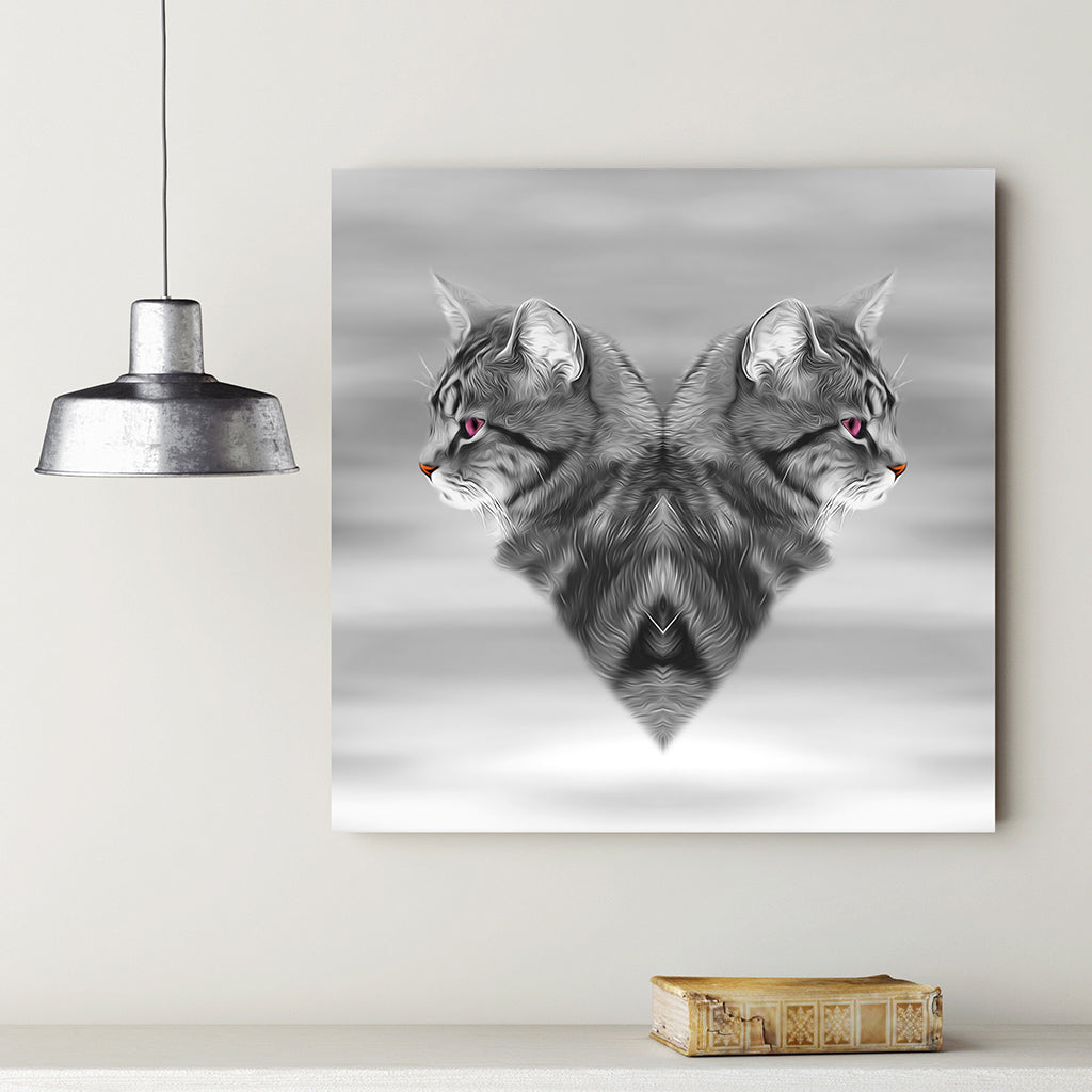 CAT LOVE •  Canvas