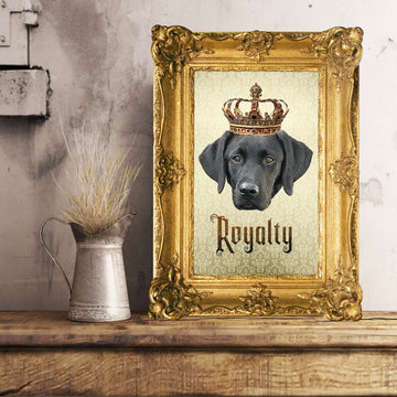 Labrador Retriever Royalty • Unframed Poster