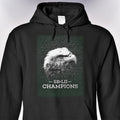 SB-LII Champions • Eagle & Philly Skyline Merged • Hoodie