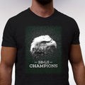 SB-LII Champions • Eagle & Philly Skyline Merged • Unisex Short-Sleeve T-Shirt
