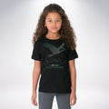 SB-LII Champions • Eagle Made of Words • Kids Short Sleeve T-shirt
