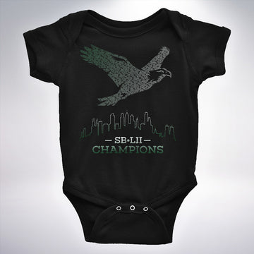 SB-LII Champions • Eagle Made of Words • Onesie